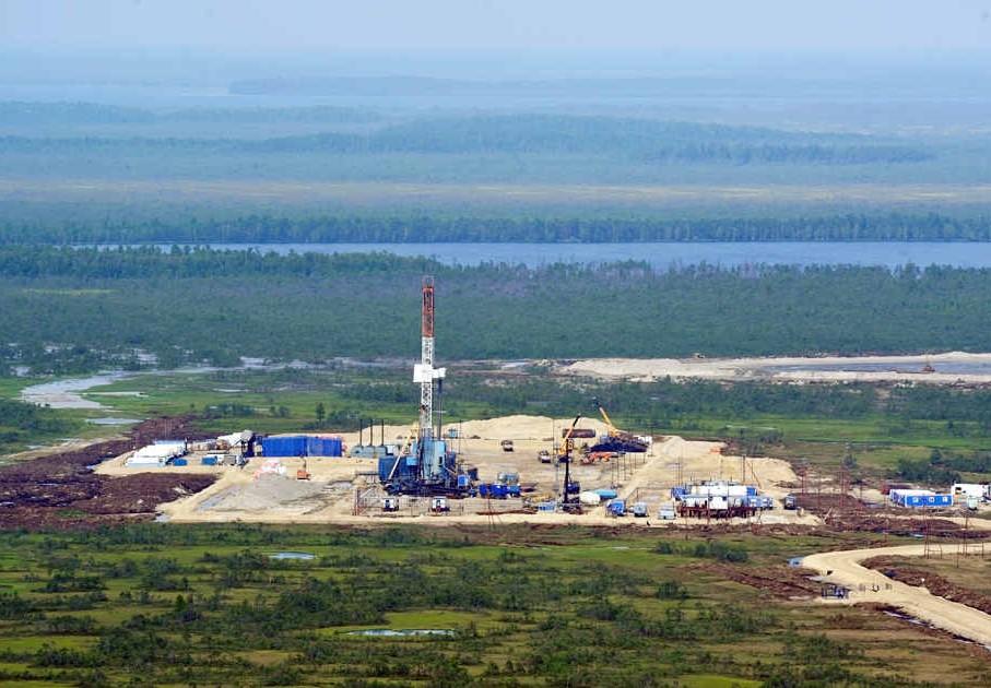 Месторождения нефти в России