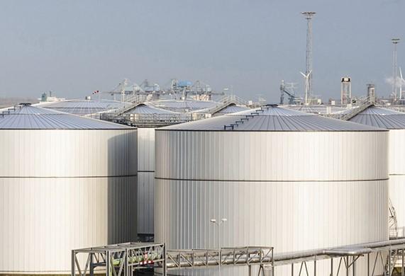 Складские запасы нефти