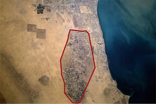 Большой Бурган в Кувейте